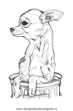 Effective Potty Training Chihuahua Consistency Is Key Ideas. Brilliant Potty Training Chihuahua Consistency Is Key Ideas. Chihuahua Drawing, Chihuahua Tattoo, Chihuahua Art, Animal Drawings, Art Drawings, Dachshund, Dog Coloring Page, Coloring Book, Dog Silhouette