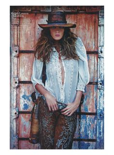 "Life in pics: Editorials: ""Et Vogue l'Été 2011"" - Daria Werbowy by Mario Sorrenti"