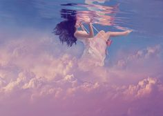 She has her Head in the Clouds by Jenn Bischof