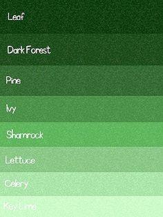 Gbg Designs August 2010 Green Color Chart Colour Palette Paint Colors