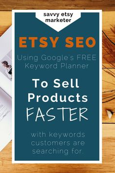 Curious how some stores know exactly what Etsy SEO keyword to use to move their products fast? The key is using Google's FREE keyword tools. Learn more in this in depth tutorial.