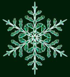 Karácsonyi hangulat (Fotó: Ken Libbrecht/Snowflakes.com)