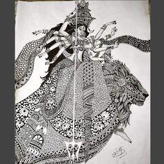 37 New Ideas amazing art drawings pencil sketches illustrations Mandala Art Lesson, Mandala Artwork, Mandala Drawing, Art Drawings Sketches Simple, Pencil Art Drawings, Abstract Drawings, Doodle Drawings, Drawing Ideas, Madhubani Art
