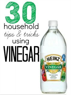 30 Uses Of Vinegar