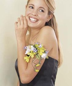 Arm Cuff Corsages | Armband Flowers