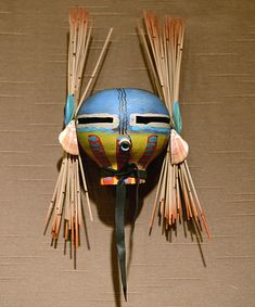 Kachina gourd mask by robert rivera