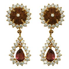 Rudraksha Diamond Earring, holy wow!