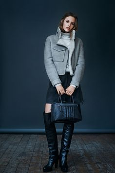 ALLSAINTS: Women's lookbook 2014 September definitely would be one of my outfit for work..