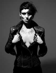 the girl with the dragon tattoo lisbeth salander rooney mara -this movie was amazing.