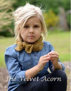 Crochet PATTERNThe Adanya Warmer Toddler Child by Thevelvetacorn