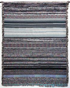 Digital static blankets by Glitch Textiles // Mac OSX dyld No. 11
