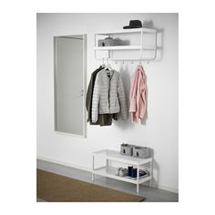 MACKAPÄR Hat and coat rack  - IKEA - potentially to use in the laundry area.
