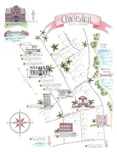 charleston city map