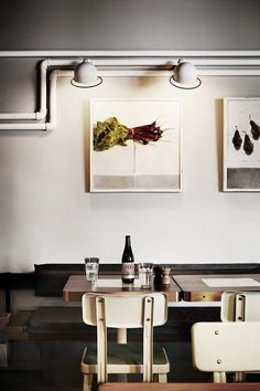 Industrial Chic in Melbourne: The Outpost Dining Room : Remodelista