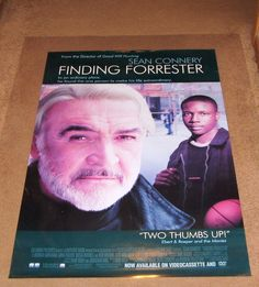 Finding Forrester Movie Poster 27x40 Used Sean Connery