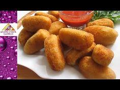 Kroket Tarifi – Pratik Yemek Tarifleri Tatlı tarifleri – The Most Practical and Easy Recipes Pretzel Bites, Sweet Potato, Bread, Pasta, Vegetables, Cooking, Room Interior, Interior Design, Food