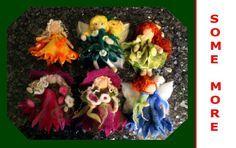 Puppen filzen – So macht man eine Elfe aus Filz !