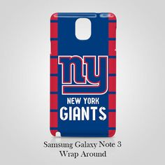 New York Giants Samsung Galaxy Note 3 Case Wrap Around