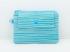 Zipper Coin Purse Mini Wallet Gift idea Gadget Case by ZestyNotion
