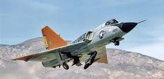 USAF's F-106 Delta Dagger Supersonic Fighter Jet...