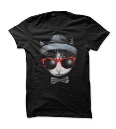 Bowtie Cat T-Shirts, Hoodies. CHECK PRICE ==► https://www.sunfrog.com/LifeStyle/Bowtie-Cat.html?41382