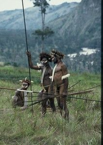 """Danis are an indigenous tribe, which dwelled in the Baliem valley in the time of its discovery. Danis belong to some the """"most decorative"""" tribes in the west Papua."""