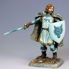 """Robb Stark """"The Young Wolf"""" - George R.R. Martin Masterworks - Miniature Lines"""