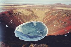 Volcanic crater - Iceland