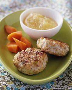 Chicken-and-Apple Patties
