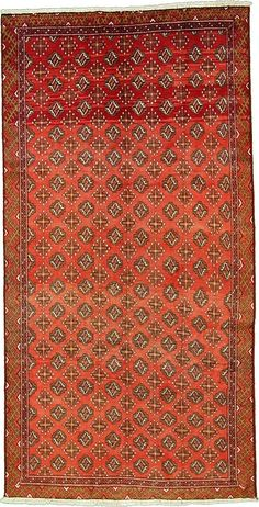 Red 4' 11 x 9' 8 Shiraz Rug | Persian Rugs | eSaleRugs