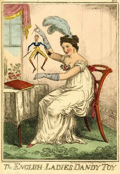 © The Trustees of the British Museum    The English Ladies Dandy Toy  9 December 1818