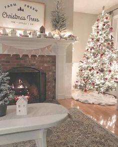 27 Gorgeous Christmas Apartment Decoration Ideas - My dream modern