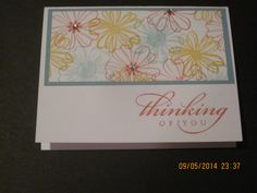Stampin'Up! card idea | Any Occasion | Flower Shop stamp set | by Stampin'Up! Demonstrator Shirley McKay, The Daily Stamper