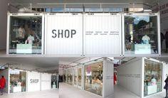 berlin container shop. Pop Up Shop. \\Image courtesy of maria Fernanda Montoya //