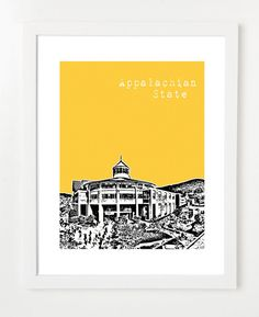 Appalachian State University  Mountaineers  Boone North by birdAve, $20.00