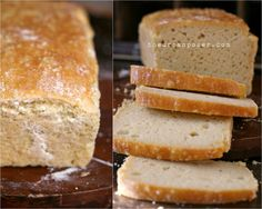 The Urban Poser:: Paleo Grain Free Cashew Sourdough Bread (gluten/grain/dairy).The BEST grain free bread! Best Keto Bread, Paleo Bread, Paleo Baking, Low Carb Bread, Gluten Free Baking, Bread Crockpot, Gluten Free Sourdough Bread, Atkins, Grain Free Bread