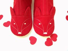 Red Fox House Boots - Happy Valentines! Red Fox, Womens Slippers, Spoonflower, To My Daughter, My Design, My Etsy Shop, Valentines, Trending Outfits, Unique Jewelry