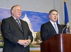 GOP Senate Leader Responds to Dayton's State of the State -- urging Vikings Stadium Vote --    MPRNews 2/15/2012
