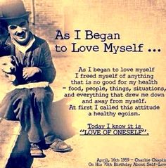 It's Ok to Love Thy Self <3