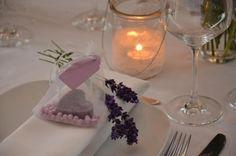 Gastgeschenk Hochzeit Seife Herz von Majalino auf DaWanda.com
