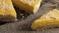 Zitronenkuchen ohne Kohlenhydrate - Rezept | DasKochrezept.de A Food, Good Food, Food And Drink, Yummy Food, Hot Dog Recipes, Cake Recipes, Evening Meals, Food Cakes, Low Carb Desserts