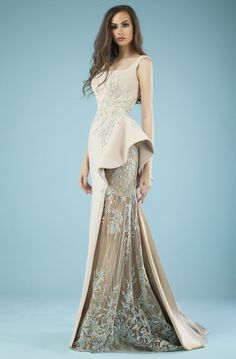 Evening Gowns Couture, Couture Wedding Gowns, Evening Dresses, Haute Couture Dresses, Bridal Gowns, Prom Jumpsuit, Bridal Jumpsuit, Pretty Dresses, Beautiful Dresses