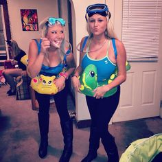 Homecoming Floats, Homecoming Spirit Week, Christmas Costumes, Halloween Costumes, Beach Costumes, Beach Fancy Dress, Scuba Diver Costume, Beach Day Outfits, Underwater Party