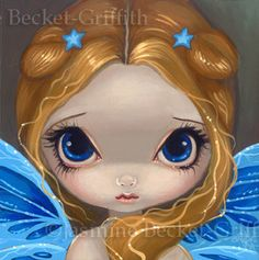 Faces of Faery #14 - Strangeling: The Art of Jasmine Becket-Griffith