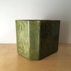 A personal favourite from my Etsy shop https://www.etsy.com/uk/listing/529583349/large-green-plastic-planter-marble