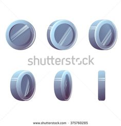 Стоковые вектора и векторный клип-арт Coin Animation | Shutterstock