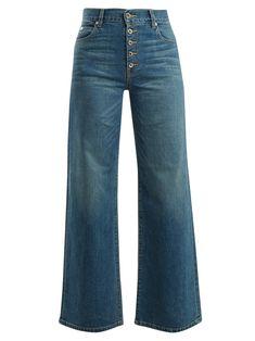 Footaction Sale Online Cheap Sale Cheap Anita high-rise wide-leg jeans Katharine Hamnett Free Shipping Discount Geniue Stockist For Sale 40EMUrgP