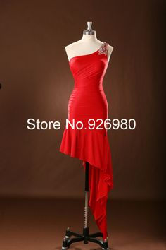 Find More Evening Dresses Information about One Shoulder High Low Evening Dresses Red Chiffon Dress Party Evening Elegant Open Back Prom Gown Backless Sexy Real,High Quality gowns made in china,China gown evening dress Suppliers, Cheap gowns for plus size women from Anny Wang's store on Aliexpress.com