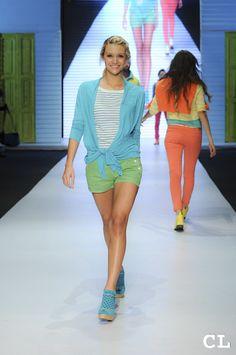 Pasarela GEF Círculo de la Moda Bogotá 2013 Modelo: Alejandra Navarro