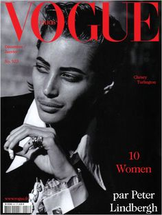 Christy Turlington: VOGUE, Paris